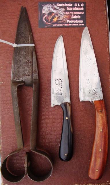 19世紀の鉄鋏から造り出す包丁 ㈰