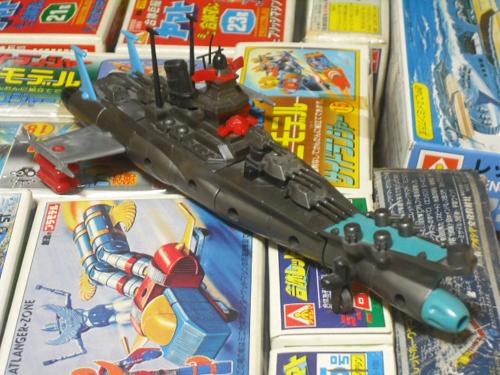 アオシマ レッドホークヤマト 合体戦艦ヤマト
