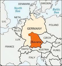 Bavaria map