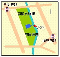 白鳥マップ