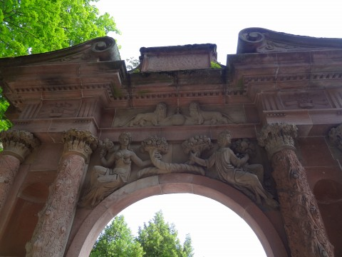 Heidelberg城門