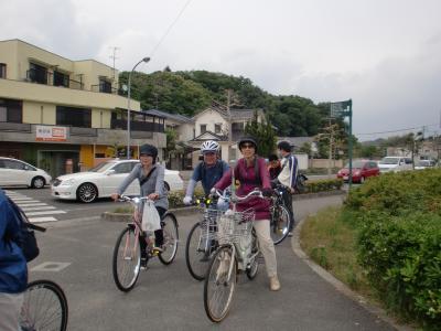 松山市の帰路途中