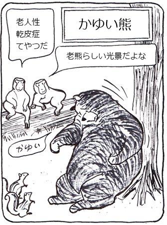 かゆい熊1_R