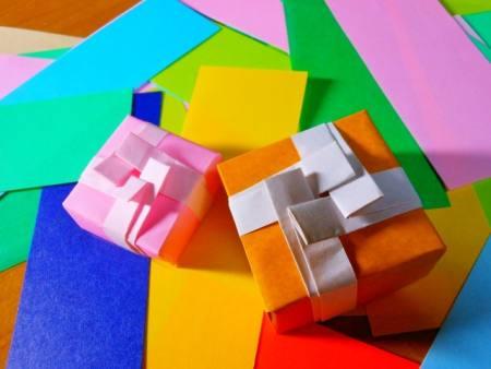 ハート 折り紙 折り紙でプレゼント : confeito0806.blog.fc2.com