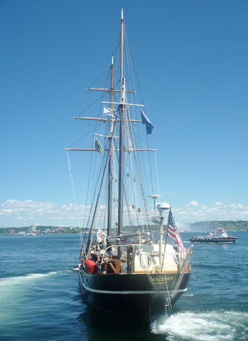 SV Unicorn at halifax 2009 (2)