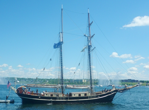 SV Unicorn at halifax 2009