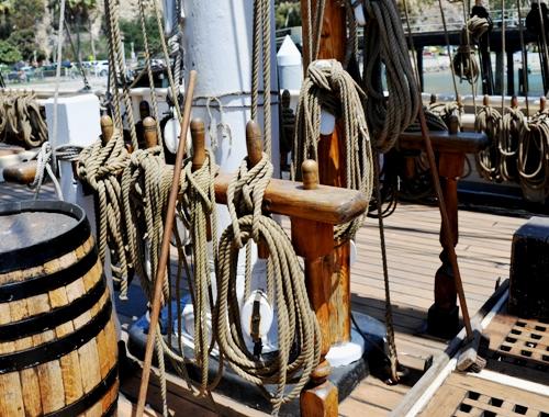 Pilgrim (11) Main Mast Snow Rig-2