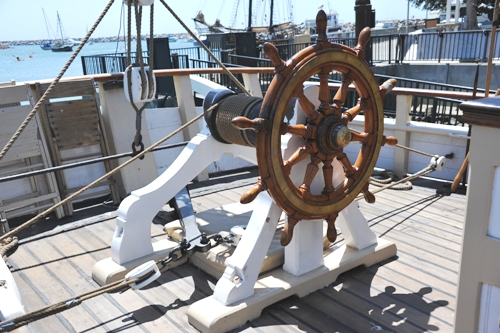 Pilgrim (20) 舵輪構造-2