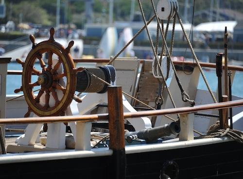 Pilgrim 22 舵輪全景