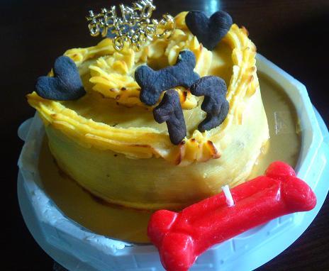 空隊長からのケーキ♪