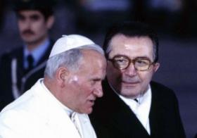 Andreotti e Papa