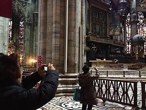 Duomo a Milano fare foto