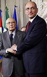 nuovo governo Letta