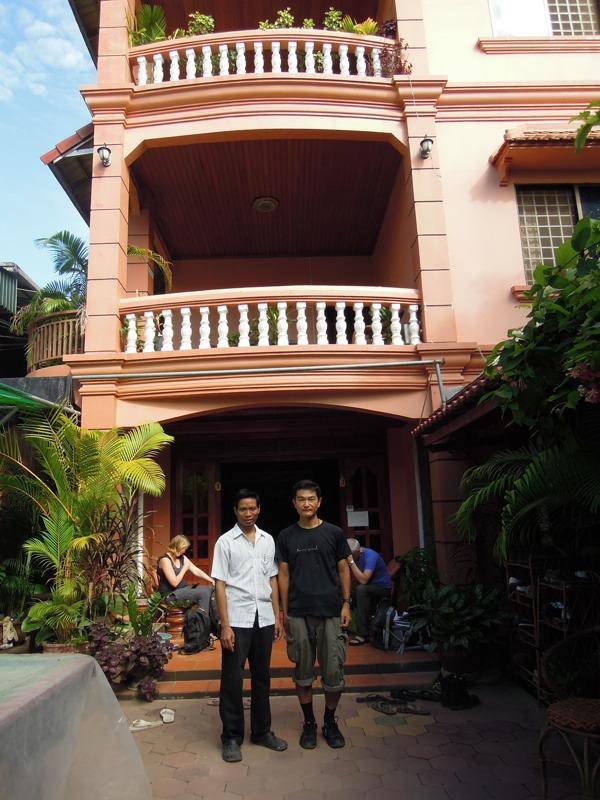 Couchsurfing(カウチサーフィン)、シェムリアップ(カンボジア)、メン。