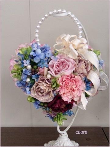 handbag bouquet