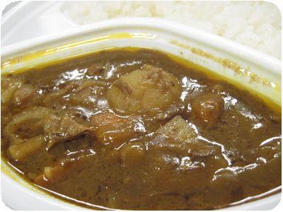 牛スジ根菜カレー