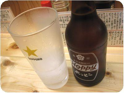 シャリシャリ+ホッピー