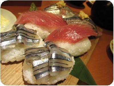 三彩にぎり寿司