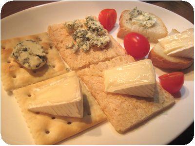 ブルーチーズ&カマンベール(2種盛り)