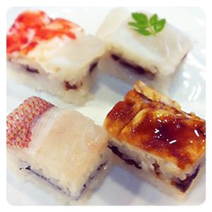 大〆の大阪寿司