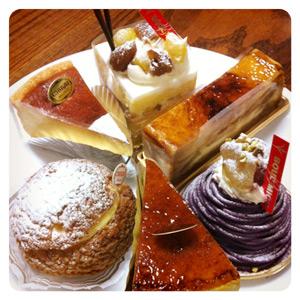 誕生日のケーキいろいろ