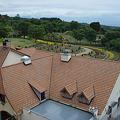 レストランの屋根