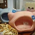 ねこ型ベッド