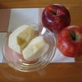 リンゴは体に優しい果物です^^