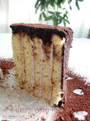 チョコレートケーキ120924_5