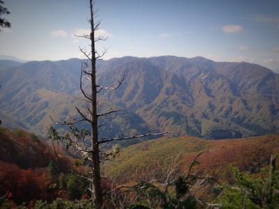 22.小比内山と奥前森方面