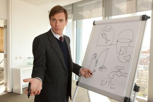 博士が描く青写真 イギリス流のユーモア?