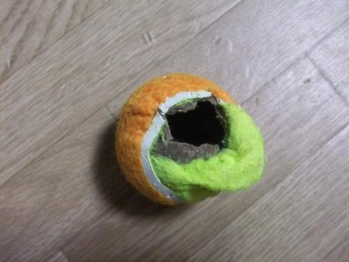 ボールが・・