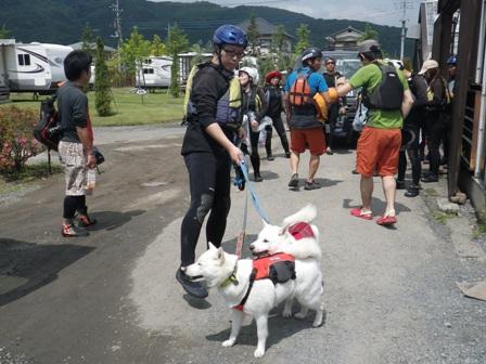 2012.6.7 川へGO!