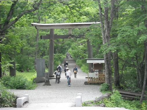 2012.6.25 c 戸隠神社 大鳥居