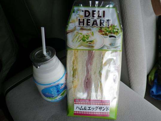 2012.9.3 阿武隈高原SA 母朝食