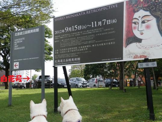 2012.9.17 函館美術館駐車場前にて