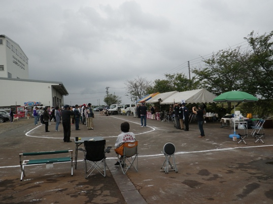 2012.10.7 協会本部展・開会式
