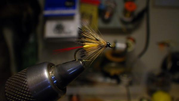 Hopper hackle