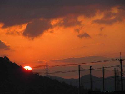 太陽の昇る位置