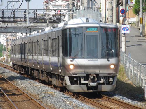 223系津久野駅