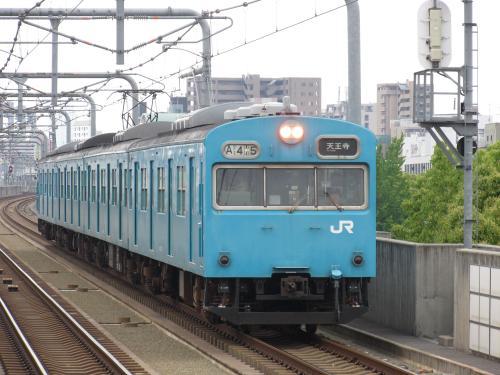 103系南田辺駅