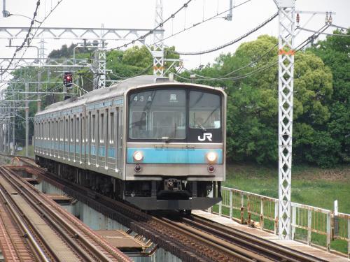205系浅香駅