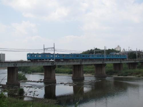 大和川と103系