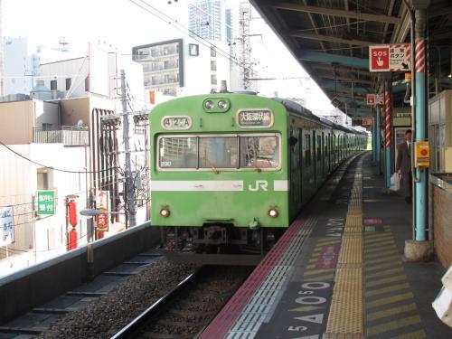 103系みどり福島駅