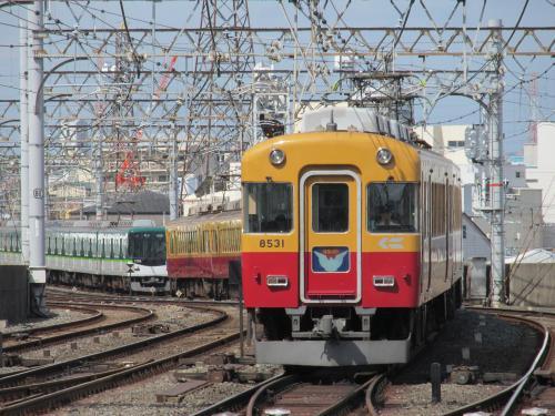 旧3000系萱島駅