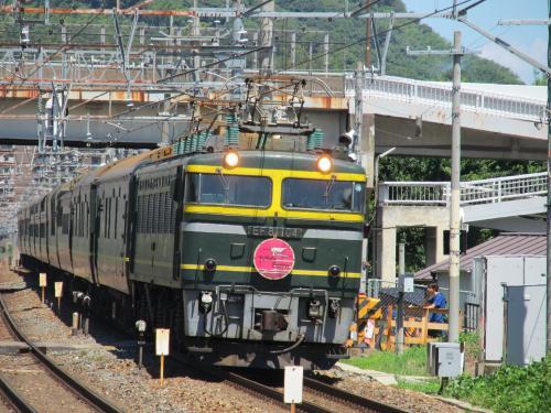 トワイライトエクスプレス 島本駅 3
