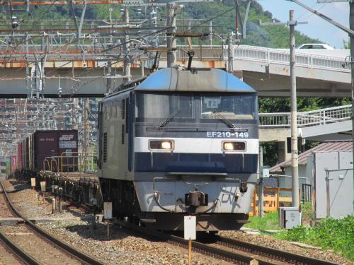 貨物EF210 島本駅