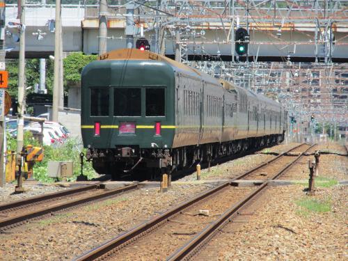 トワイライトエクスプレス 島本駅 2