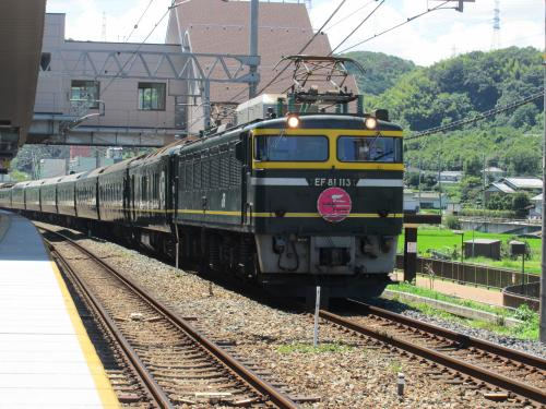 トワイライトエクスプレス 島本駅 1