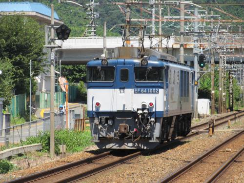 単体EF64 島本駅